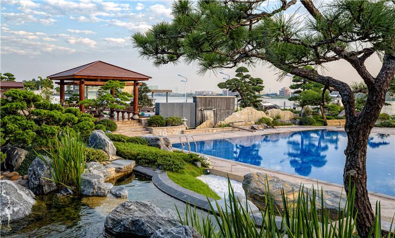 广州意桥岛游艇会园林景观设计